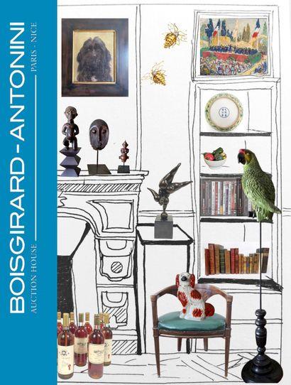 [ ART & DECO III ] TABLEAUX  - LIVRES - BIJOUX - NUMISMATIQUE - ASIE - OBJETS D'ART & DE DECORATION - MOBILIER