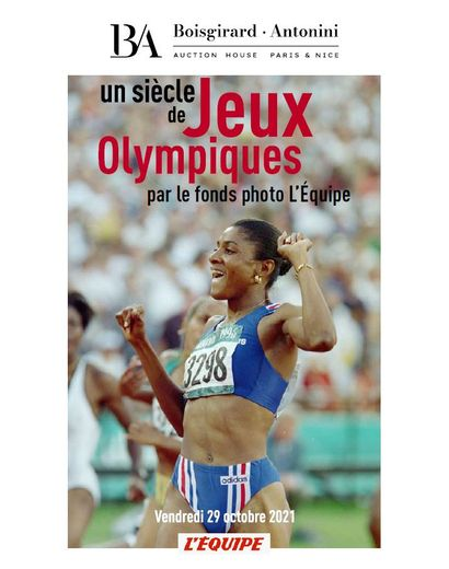 A century of Olympic Games by the L'Equipe photo collection