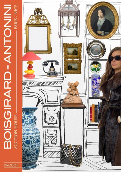 ART & DECO IV [ONLINE]: Tableaux anciens et Modernes - Bijoux et Argenterie - Mode - Arts d'Asie - Presse-papiers - Objets d'art et de décoration...