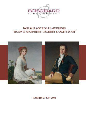 TABLEAUX ANCIENS ET MODERNES - BIJOUX & ARGENTERIE - MOBILIER & OBJETS D'ART