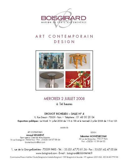 ART CONTEMPORAIN-DESIGN
