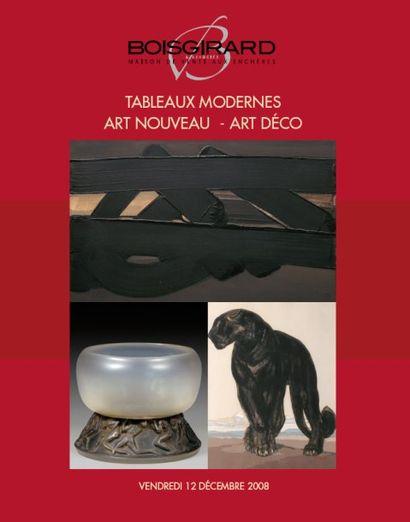 TABLEAUX MODERNES - ART NOUVEAU - ART DÉCO