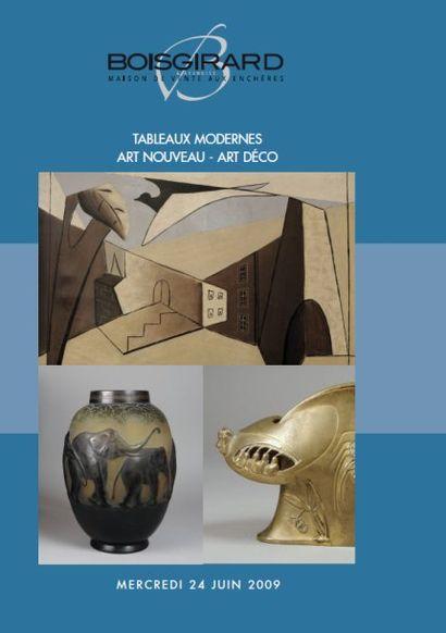 TABLEAUX MODERNES ART NOUVEAU - ART DECO