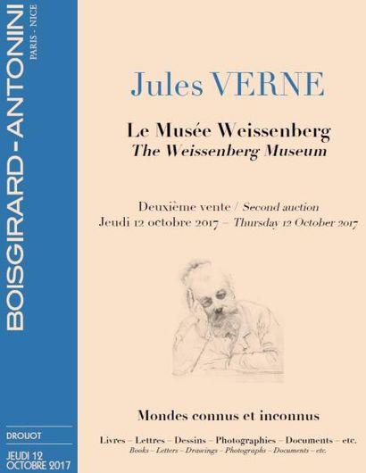 Jules VERNE Le Musée Weissenberg - Deuxième vente : Les Voyages extraordinaires / Mondes connus et inconnus