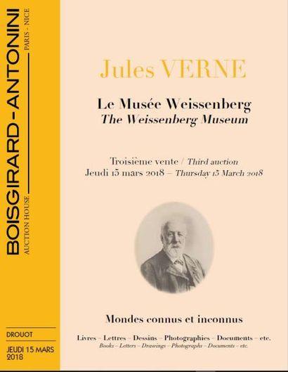 JULES VERNE LE MUSÉE WEISSENBERG - TROISIÈME VENTE