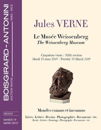 JULES VERNE - LE MUSÉE WEISSENBERG - CINQUIÈME VENTE