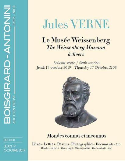 JULES VERNE - LE MUSÉE WEISSENBERG - SIXIÈME VENTE