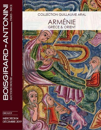 COLLECTION GUILLAUME ARAL : ARMÉNIE - GRÈCE ET ORIENT