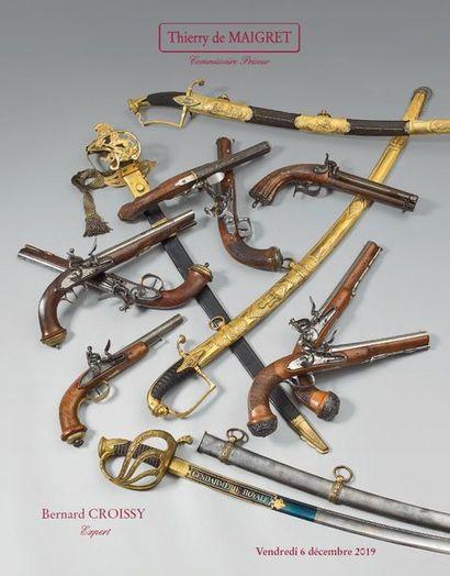 ART MILITAIRE : ARMES ANCIENNES - SOUVENIRS HISTORIQUES - DÉCORATIONS