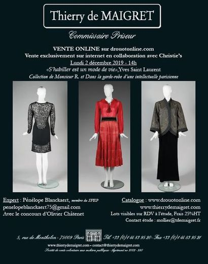 ONLINE FASHION & ACCESSORIES: Closing on December 2nd