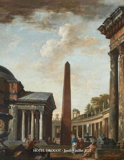ANCIENT AND XIXth CENTURY DRAWINGS and TABLES - ART OBJECTS and FURNITURE from the 17th to the 19th century - TAPESTRIES