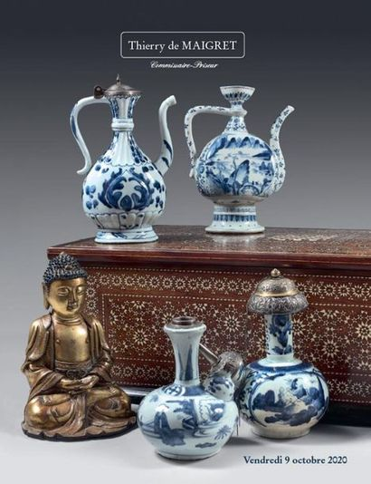 ASIAN ARTS - EUROPEAN CERAMICS - OBJETS D'ART AND FURNISHINGS FROM THE 16TH, 17TH, 18TH AND 19TH CENTURIES - ARCHAEOLOGY - HISTORICAL SOUVENIRS