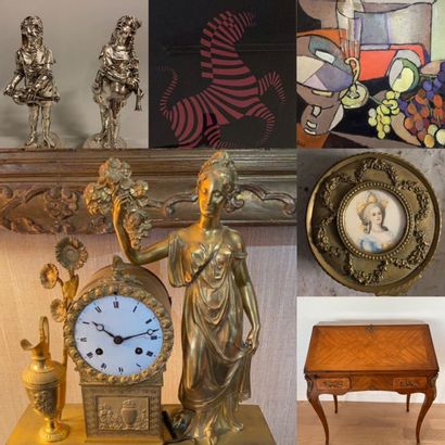 ONLINE SALES, PAINTINGS, SILVERWARE, FURNITURE, ART OBJECTS
