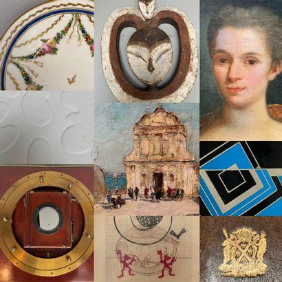 Vente only Online : livres, encadrés, art tribal,céramiques, bijoux,objets d'art