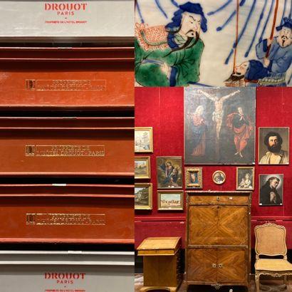 vente en direct : Mannettes, mobilier et objets d'art