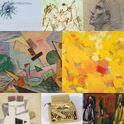 Estampes Sculptures et Tableaux modernes - Collection Alain Bouret (lots 1 à 183) et à divers