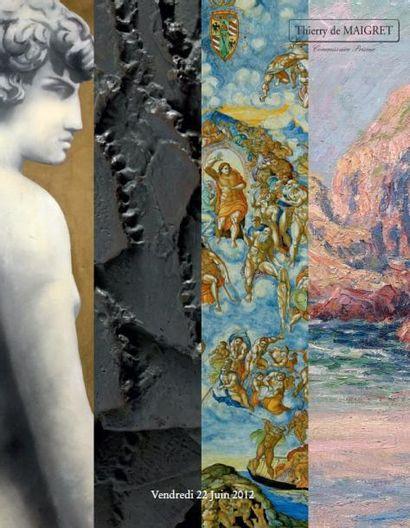 TABLEAUX MODERNES - CERAMIQUES - ARTS d'ASIE ART ISLAMIQUES et JUDAÏCA - INSTRUMENTS de MUSIQUE