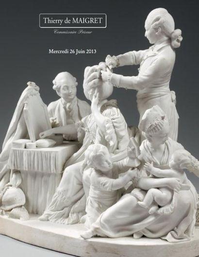 DESSINS - TABLEAUX ANCIENS et du XIXème siècle – PHOTOS CERAMIQUES dont SEVRES – Collections de porcelaine de Chine de Commande HAUTE EPOQUE - OBJETS d'ART et d'AMEUBLEMENT des XVIIème, XVIIIème et XIXème siècles