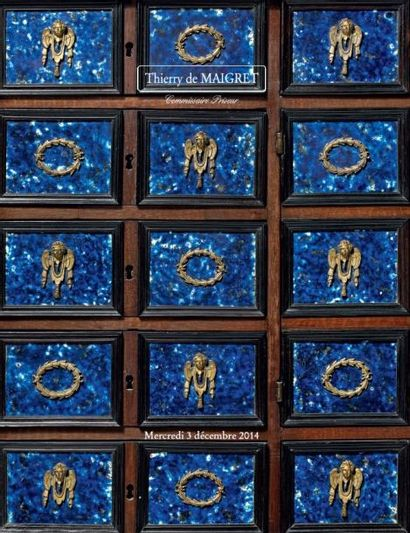 TABLEAUX ANCIENS - OBJETS D'ART ET D'AMEUBLEMENT DES XVIIe XVIIIe et XIXème siècles - TAPISSERIES