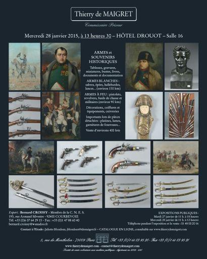 MILITARIA-SOUVENIRS HISTORIQUES