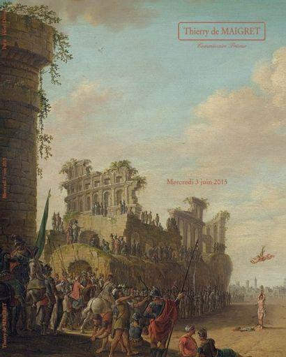 TABLEAUX ANCIENS - OBJETS d'AMEUBLEMENT