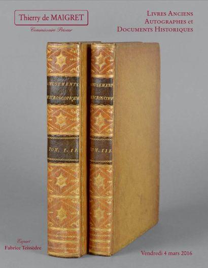 Livres anciens - Livres du XIXe et modernesDocuments historiques et autographes de la Révolution et de l'Empire