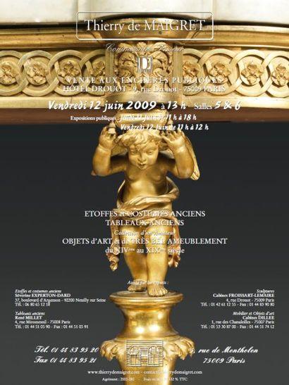 TABLEAUX ANCIENS – ARCHEOLOGIE- ART d' ASIE - CERAMIQUES – SCULPTURES - COSTUMES du XVIIIème siècle