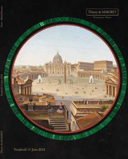 TABLEAUX ANCIENS, OBJETS d'ART, MOBILIER des XVIIème, XVIIIème et XIXème siècle