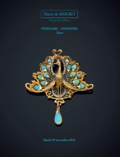 Vente à 11h et 13h30 : bijoux, montres, orfèvrerie, objets de vitrine