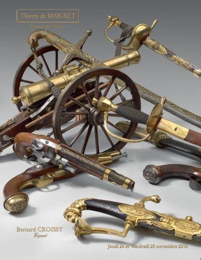 armes, souvenirs historiques, dessins, miniatures, figurines, décorations, insignes, cuivreries, livres et documents