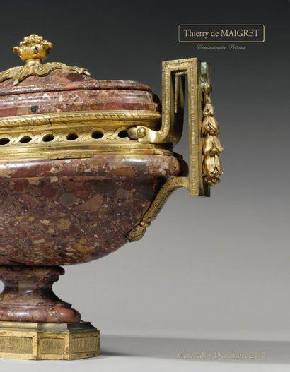 TABLEAUX ANCIENS - SCULPTURES - MEUBLES et OBJETS d'ART des XVIIème, XVIIIème et XIXème siècles