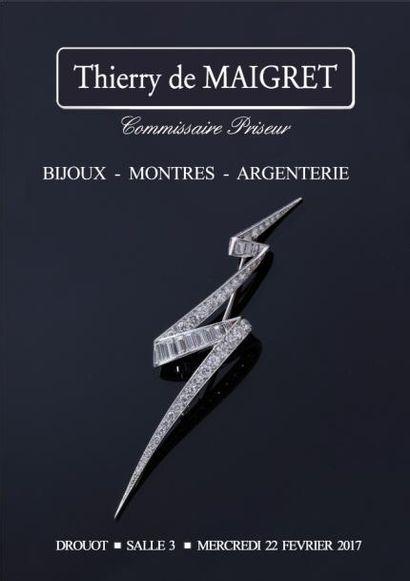 BIJOUX - COLLECTION DE MONTRES D'UN AMATEUR - ORFEVRERIE