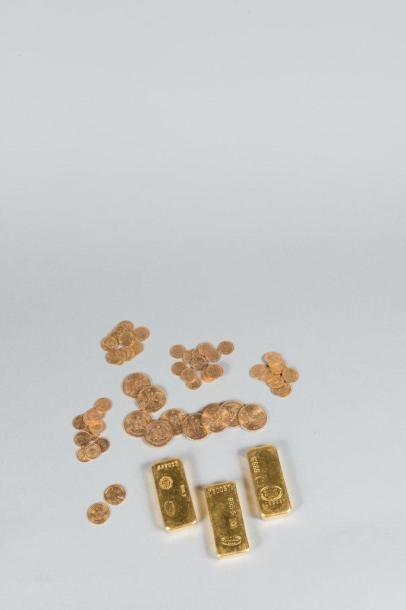 Lingots - Pièces d'or