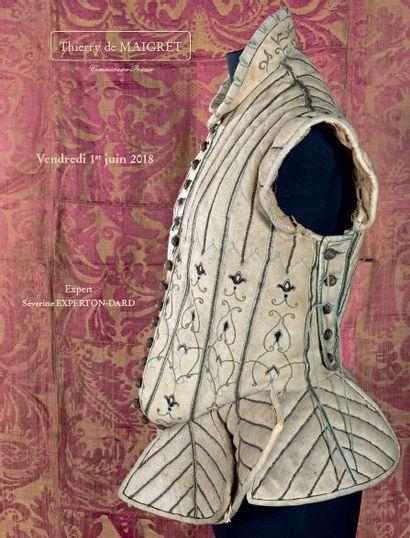 ÉTOFFES, BRODERIES & COSTUMES du XVIe au XXe SIÈCLE