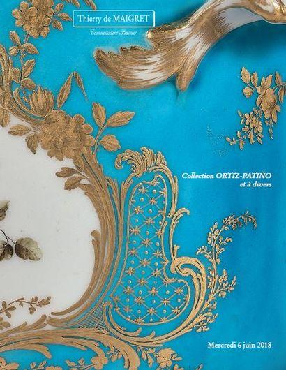 Céramiques, collection Ortiz-Patino, tableaux anciens, sculptures, bronzes, objets d'art et d'ameublement