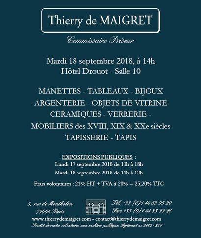 Mobilier et Objets d'art, Bijoux, Tapis