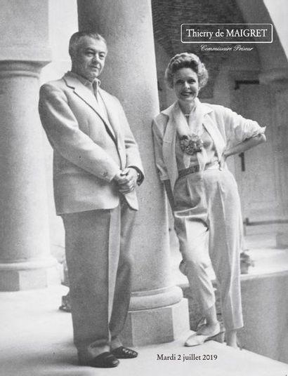 Provenant de la Villa La Pausa - Ancienne résidence de Gabrielle Chanel - Collection Emery & Wendy Reves