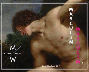 Masculin / Masculin°4 : sculptures, bronzes, dessins, tableaux anciens, tableaux modernes