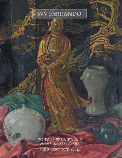 Atelier Marcel Bernanose (1884 - 1952) - Un artiste témoin de son temps