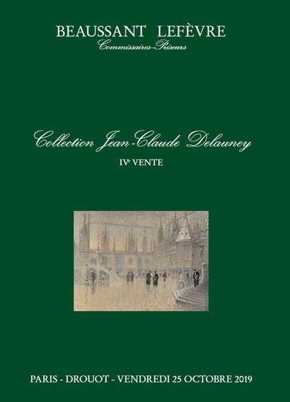 Collection Jean-Claude DELAUNEY - DESSINS et TABLEAUX ANCIENS et MODERNES