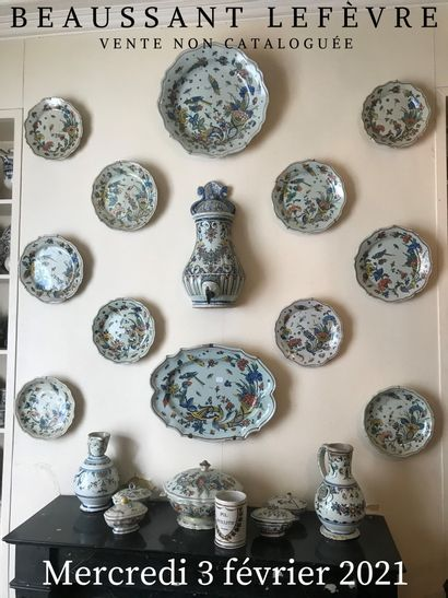 VENTE NON CATALOGUÉE : Gravures, dessins et tableaux du XIXème siècle, objets de vitrine, collection de tabatières, meubles du XIXème siècle et de style, nombreuses céramiques françaises de Rouen et divers…