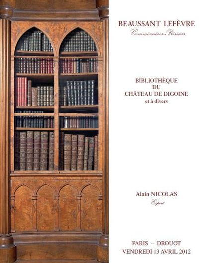 Bibliothèque du Château de Digoine et à divers