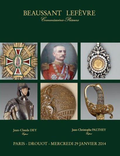ORDRES de CHEVALERIE, DÉCORATIONS et MÉDAILLES, SOUVENIRS des JEUX OLYMPIQUES, SOUVENIRS HISTORIQUES