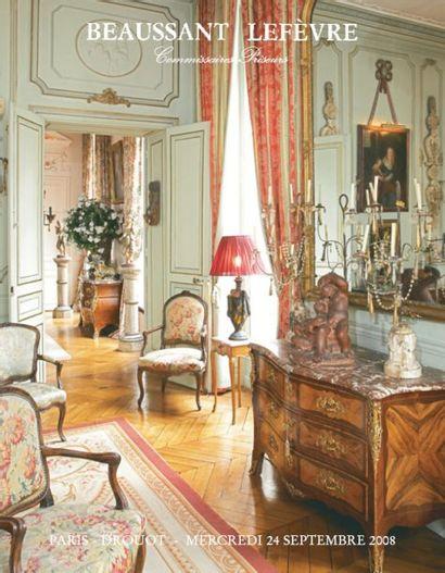 Mobilier de deux appartements parisiens