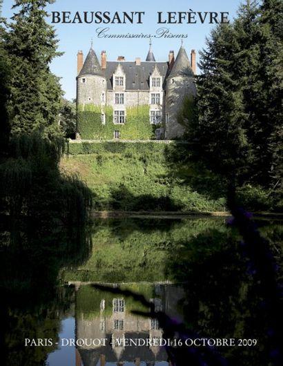 Entier mobilier d'un château de l'ouest de la France