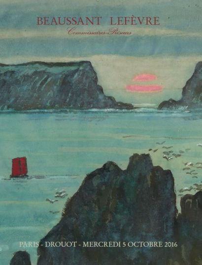 HOMMAGE  AU « PEINTRE DE THALASSA », JEAN FRANCIS AUBURTIN
