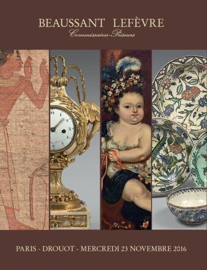 archéologie, art d'Orient, livres, tableaux anciens, objets d'art et d'ameublement, instruments de musique
