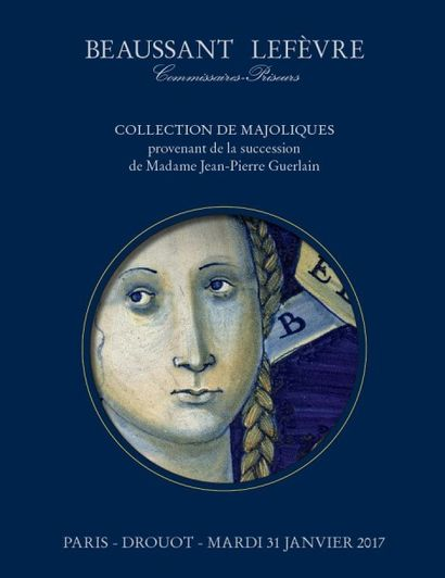 Collection de majoliques provenant de la succession de Madame Jean-Pierre Guerlain