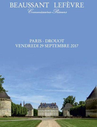 Mobilier et objets d'art provenant des collections du marquis de Brantes au château du Fresne (Val-de-Loire) et à divers amateurs