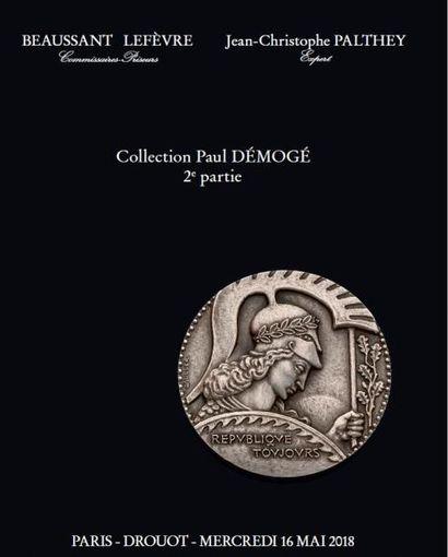 COLLECTION PAUL DÉMOGÉ, DEUXIÈME PARTIE, ET À DIVERS AMATEURS